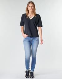 Clothing Women Skinny jeans Replay LUZ Blue / Medium