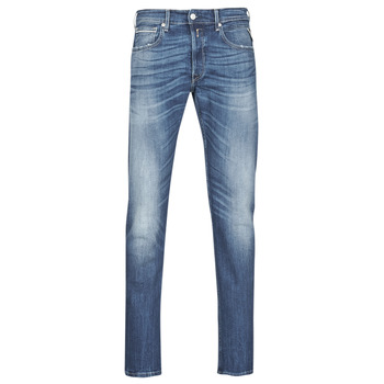 Clothing Men Straight jeans Replay GROVER Blue / Medium