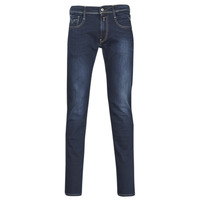 Clothing Men slim jeans Replay ANBASS Blue / Dark