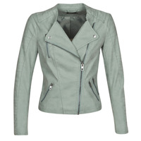 Clothing Women Leather jackets / Imitation leather Only ONLAVA Green