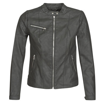 Clothing Women Leather jackets / Imitation leather Only ONLMELANIE Black