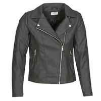 Clothing Women Leather jackets / Imitation leather Only ONLMELANIE BIKER Black