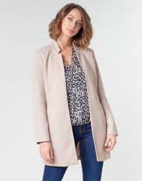 Clothing Women Coats Only ONLSOHO Beige