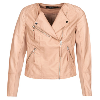 Clothing Women Leather jackets / Imitation leather Vero Moda VMRIA FAV Pink