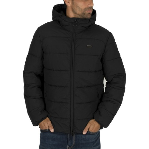 Clothing Men Duffel coats Barbour Court Jacket black