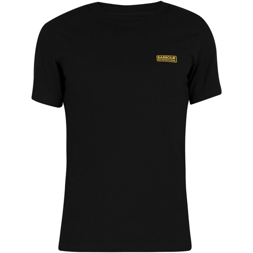 Clothing Men Short-sleeved t-shirts Barbour Small Logo T-Shirt black