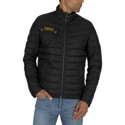 Clothing Men Duffel coats Barbour Chain Baffle Jacket black