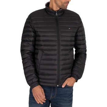 Clothing Men Duffel coats Tommy Hilfiger Core Packable Down Jacket black