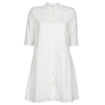 Clothing Women Short Dresses Betty London MOLINE White