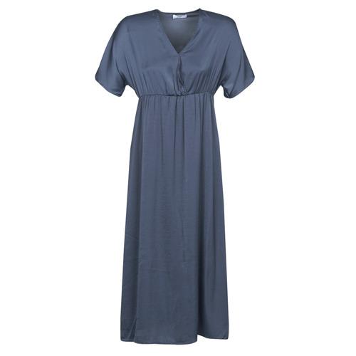 Clothing Women Long Dresses Betty London MOUDA Marine