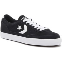 Shoes Men Low top trainers Converse Net Star Classic Suede Mens Black / White Ox Trainers Black
