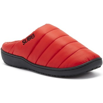 Shoes Women Slippers Subu Womens Poppy Red Slippers Red
