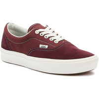 Shoes Men Fitness / Training Vans Comfycush Era Mens Port Royale Red / White Trainers Red