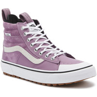 Shoes Women Hi top trainers Vans SK8-Hi MTE 2.0 DX Womens Valerian Pink / White Boots Pink