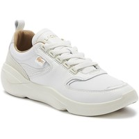 Shoes Women Fitness / Training Lacoste Wildcard 319 2 Womens Off White Trainers White