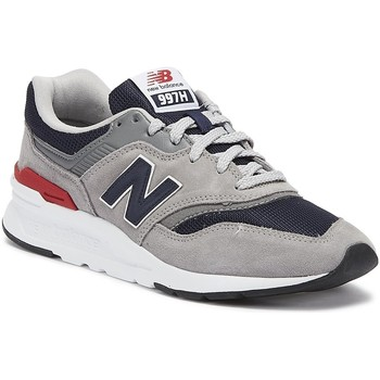 Shoes Men Fitness / Training New Balance 997 Mens Grey / Navy Trainers Grey