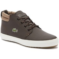Shoes Men Mid boots Lacoste Ampthill 319 1 Mens Brown Trainers Dark Brown