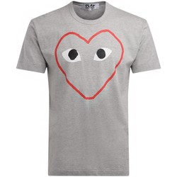 Clothing Men short-sleeved t-shirts Comme Des Garcons men's t-shirt made of gray cotton Grey