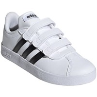 Shoes Children Low top trainers adidas Originals VL Court 20 Cmf C White