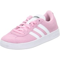 Shoes Children Derby Shoes & Brogues adidas Originals VL Court Pink