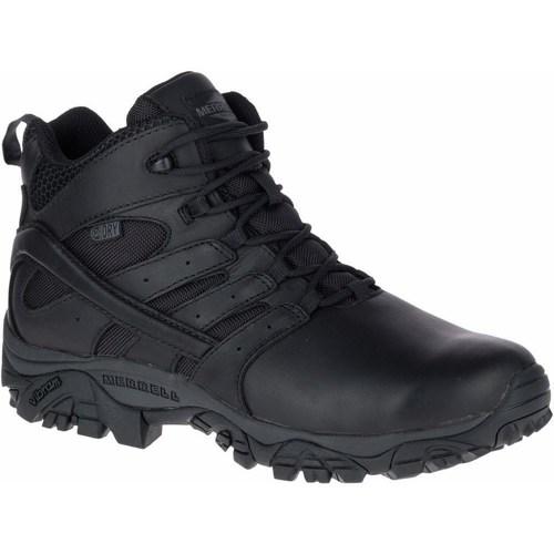 Shoes Men Derby Shoes & Brogues Merrell Moab 2 Mid Response Waterproof Black