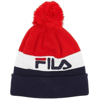 Clothes accessories Hats / Beanies / Bobble hats Fila Kato Jacquard Pom Chinese Red Beanie Red