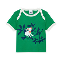 Clothing Boy Short-sleeved t-shirts Petit Bateau FENDI Green