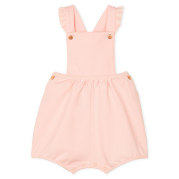 Clothing Girl Jumpsuits / Dungarees Petit Bateau FICUS Pink