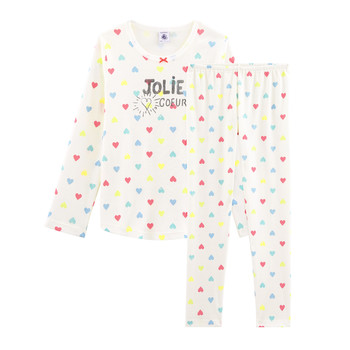 Clothing Girl Sleepsuits Petit Bateau FIONA Multicolour