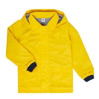 Clothing Children Parkas Petit Bateau FATAH Yellow