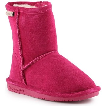 Shoes Girl Snow boots Bearpaw Emma Toddler Zipper 608TZ-671 Pom Berry pink