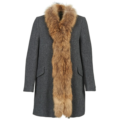 Clothing Women coats Stella Forest STILAN Grey