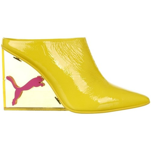 Shoes Women Derby Shoes & Brogues Puma X Fenty Rihanna Cat Wedge Yellow