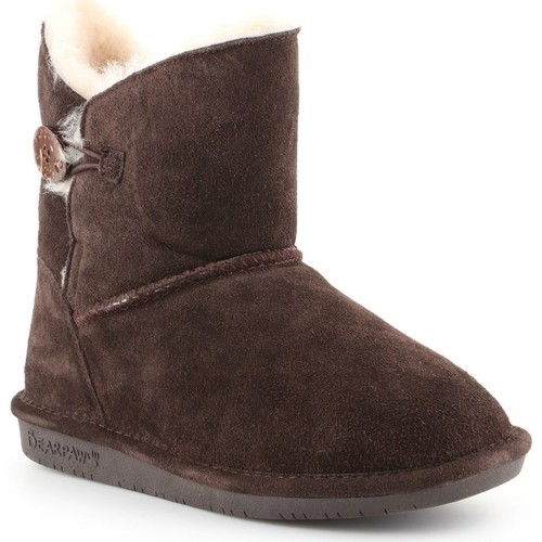 Shoes Women Derby Shoes & Brogues Bearpaw Rosie Brown