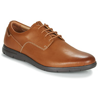 Shoes Men Derby Shoes Clarks VENNOR WALK Brown