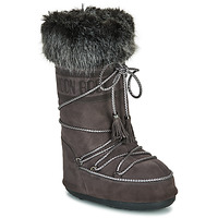 Shoes Women Snow boots Moon Boot MOON BOOT VELVET Anthracite