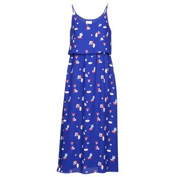 Clothing Women Long Dresses Moony Mood PATRICK Blue / White / Red