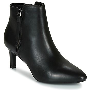 Shoes Women Ankle boots Clarks CALLA BLOSSOM Black