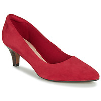 Shoes Women Heels Clarks LINVALE JERICA Red