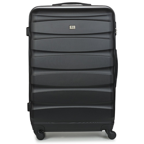 Bags Hard Suitcases David Jones CHAUVETTINI 107L Black
