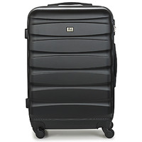Bags Hard Suitcases David Jones CHAUVETTINI 72L Black