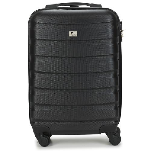 Bags Hard Suitcases David Jones CHAUVETTINI 40L Grey