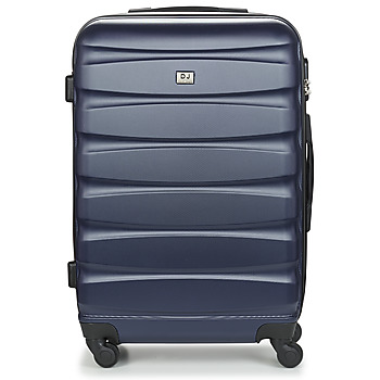 Bags Hard Suitcases David Jones CHAUVETTINI 72L Marine