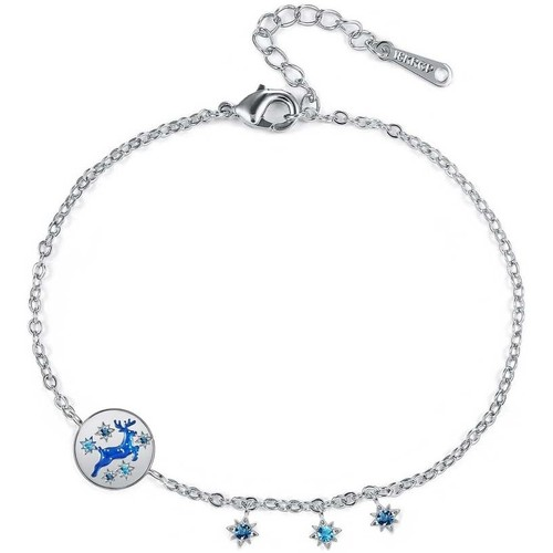 Watches & Jewellery  Women Bracelets Blue Pearls CRY E003 J Blue