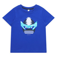 Clothing Girl Short-sleeved t-shirts Esprit ENORA Blue