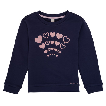 Clothing Girl Sweaters Esprit ESTER Marine