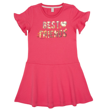 Clothing Girl Short Dresses Esprit ELOISA Pink