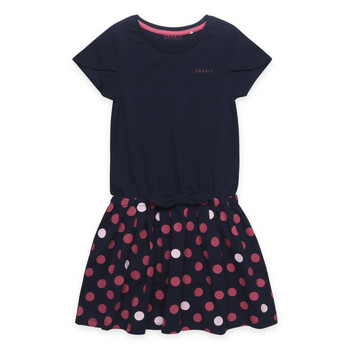 Clothing Girl Short Dresses Esprit EMILIEN Marine