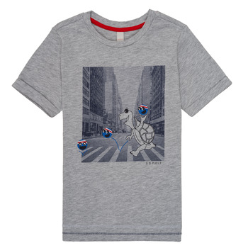 Clothing Boy short-sleeved t-shirts Esprit EMA Grey