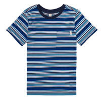 Clothing Boy short-sleeved t-shirts Esprit ERNEST Blue